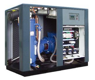 德石顿永磁同步电机及变频控制系统在迁安XX薄板公司空压机改造